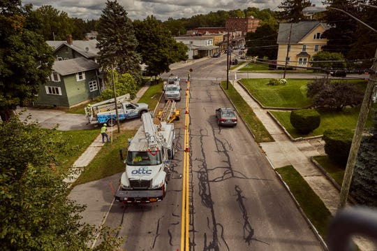 Ontario & Trumansburg Telephone recently completed a fiber-optic network called Fiber to the Home.