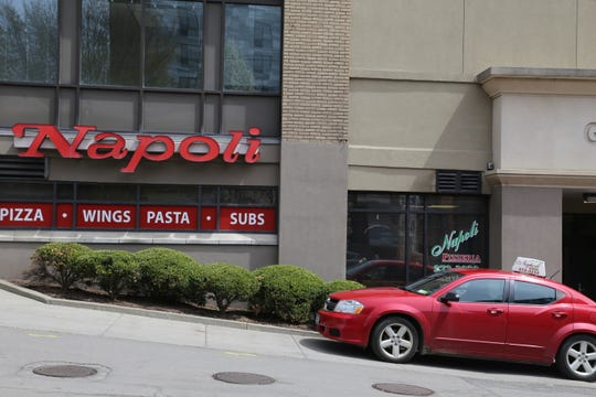 Napoli Pizzeria, located at the Gateway Center building in Ithaca, is closing after 43 years in business.