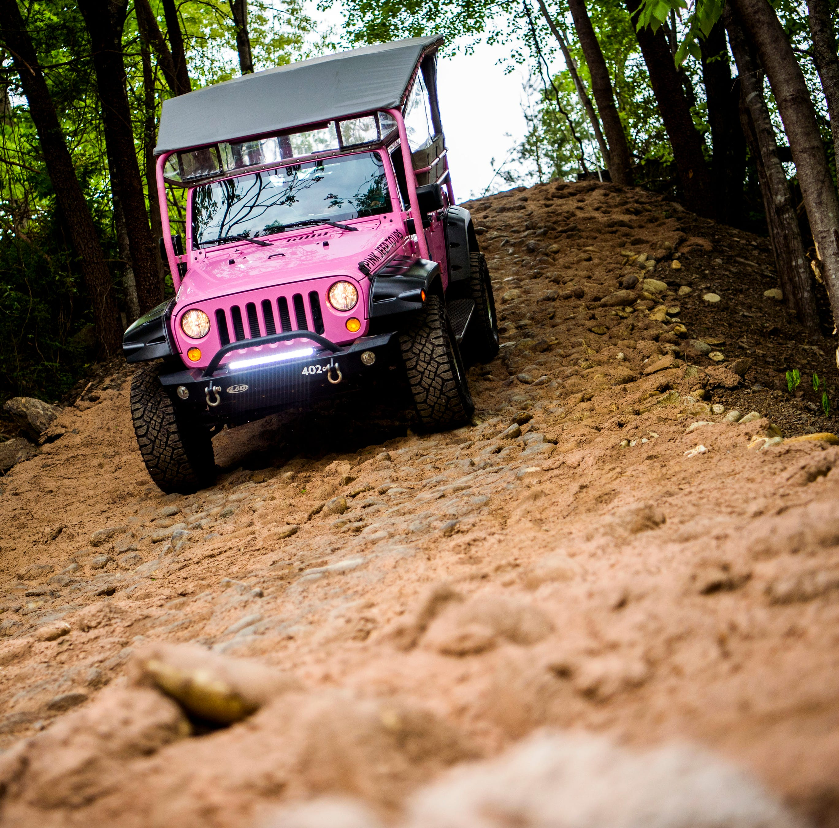 Pink Jeep Tours has opened in Smoky Mountains. Here's what it's like to take a ride.