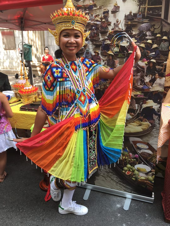 Cindy Pingsanoi at last year's Knoxville Asian Festival. This year's late-summer event will be the biggest yet, and proceeds from this Saturday's race will go to fund it and other educational initiatives.