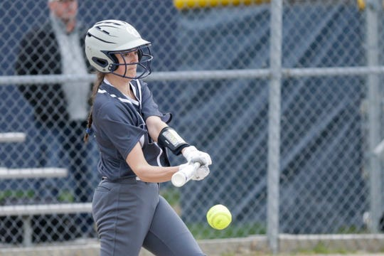 Cailyn Davis is a senior softball player at Central Catholic.