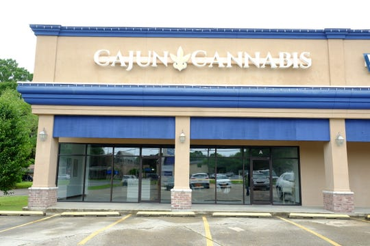 Cajun Cannabis in Lafayette was stripped of CBD products as of Thursday, save for some sparkling soda cans that each contain 20 milligrams of CBD.