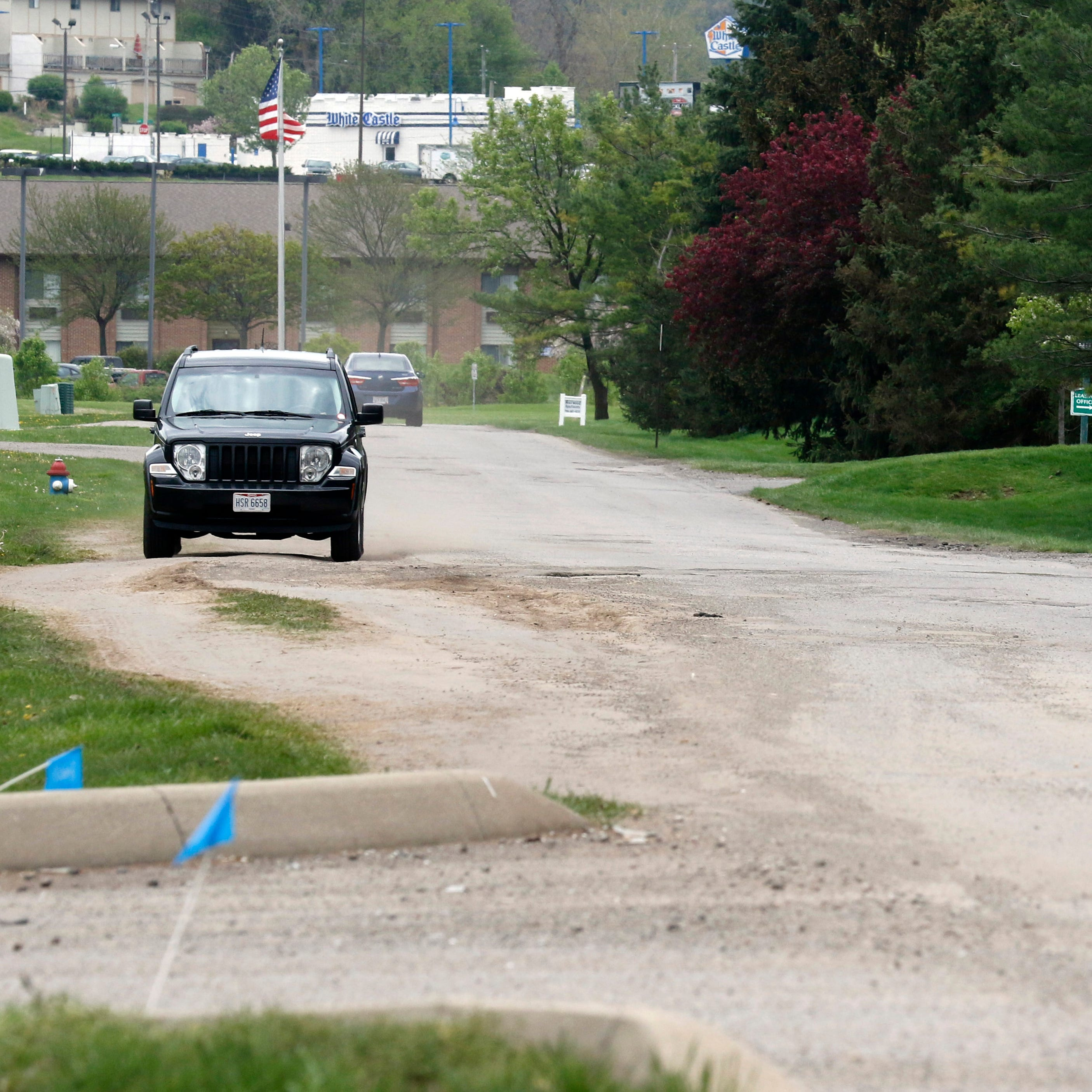 City has limited options to deal with private road