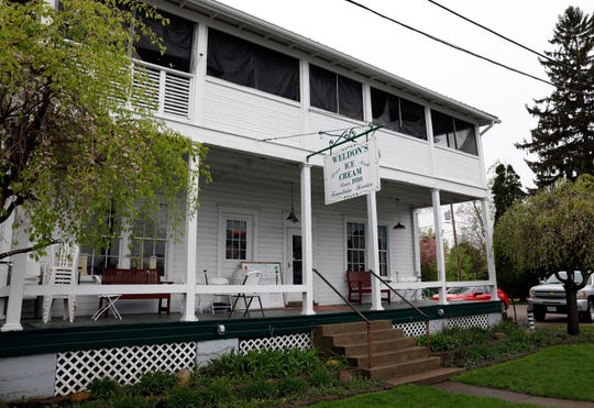 Weldon's Ice Cream sits just off of Buckeye Lake in Millersport in the same building its been in since the business began in the 1930s.