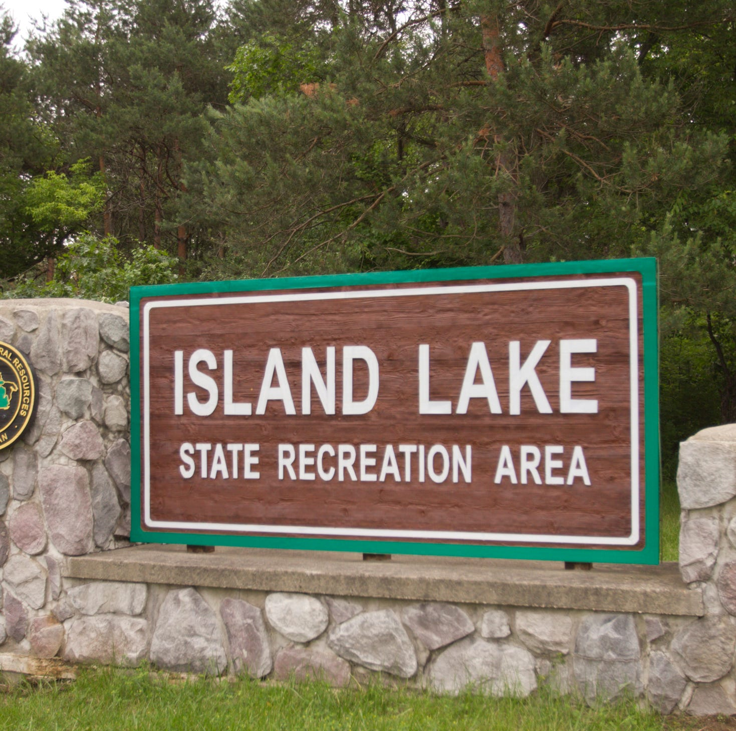 Bicyclist critically injured in crash in Island Lake State Recreation Area