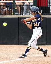 Kelsey Zampa hit a grand slam for Hartland in a 5-1 victory over Canton.
