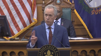 Mayor Greg Fischer issued his budget cuts proposal to the Louisville Metro Council on Thursday.