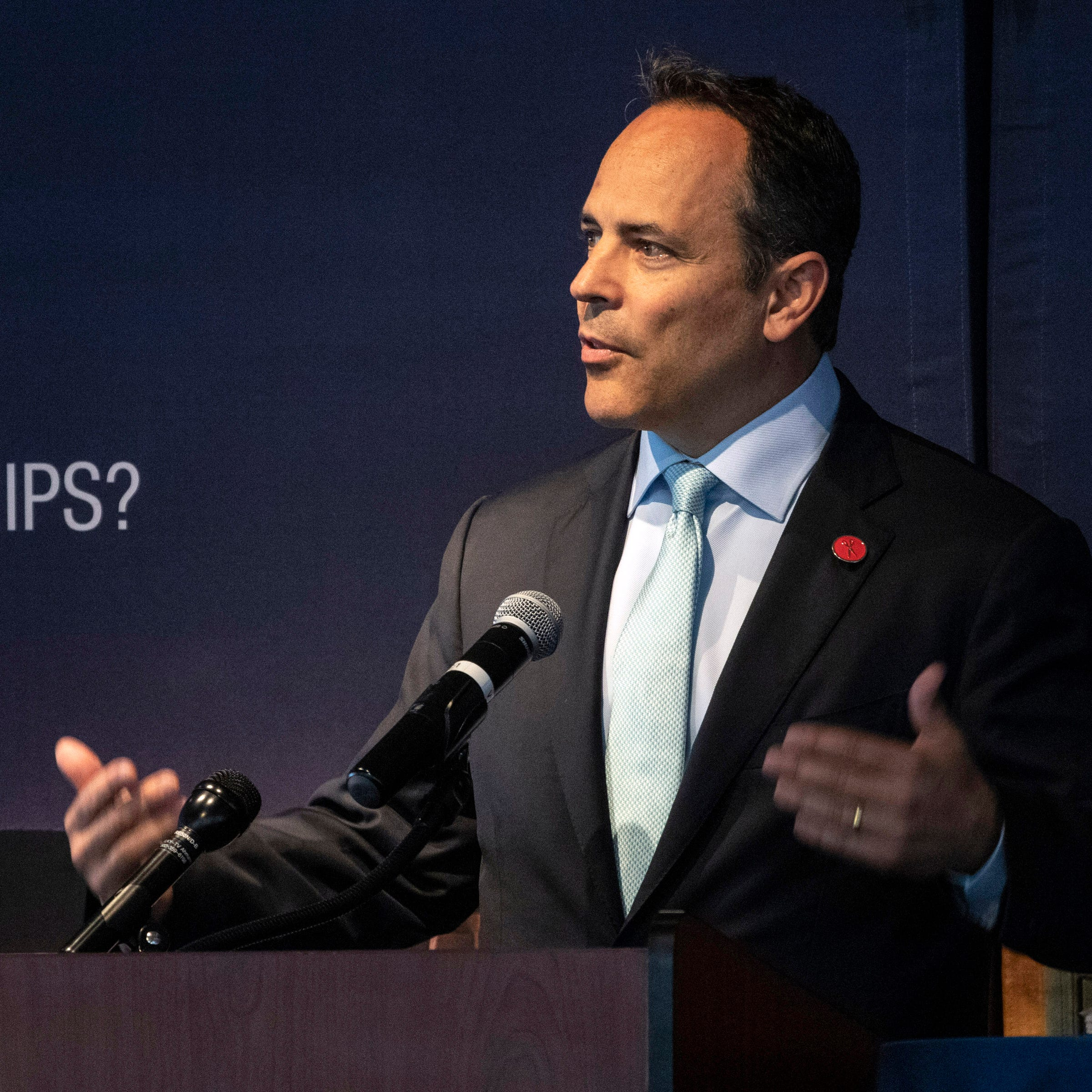 Gov. Matt Bevin: Kentucky teacher sickouts caused a 7-year-old to be shot
