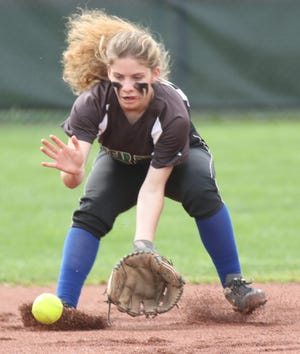 Clear Fork's Courtney Palmer brings great defense and a big bat back to the Colts' lineup in 2021.
