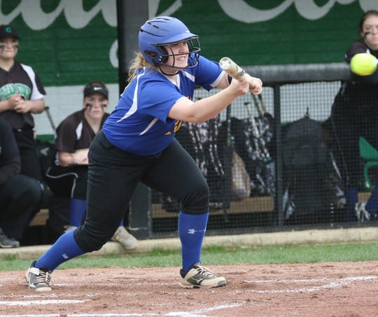 Ontario's Laney Grimwood has her Lady Warriors as the No. 1 overall seed in the Division II Edison District tournament.