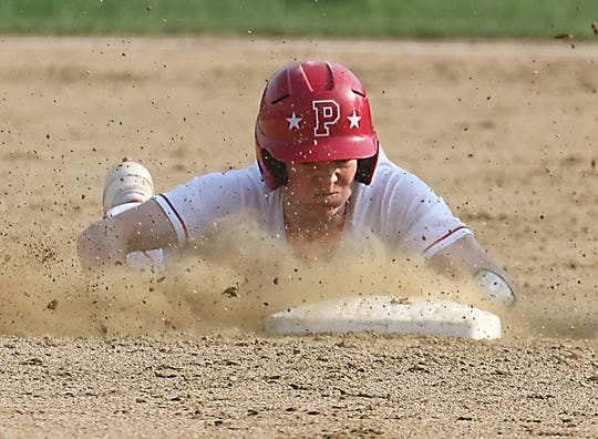 Plymouth's Walker Elliott is on pace to challenge for the single-season base stealing record and could finish with more than 70 by season's end.