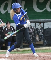 Ontario's Carleigh Pearson hit her first career home run in a 4-2 win over Galion last week.