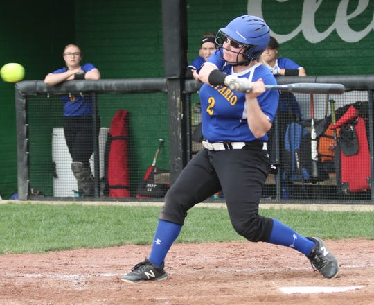 Ontario's Alexis Johnson had three hits and three RBI in a 4-2 win over Galion on Thursday night.