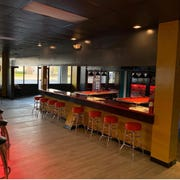 The bar at Next Level Sports & Cigar Bar on Appling Way in Bartlett.