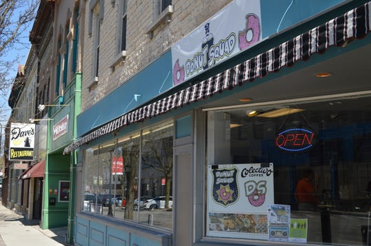 Donut Squad is located at 308 W. Broadway, Waukesha.