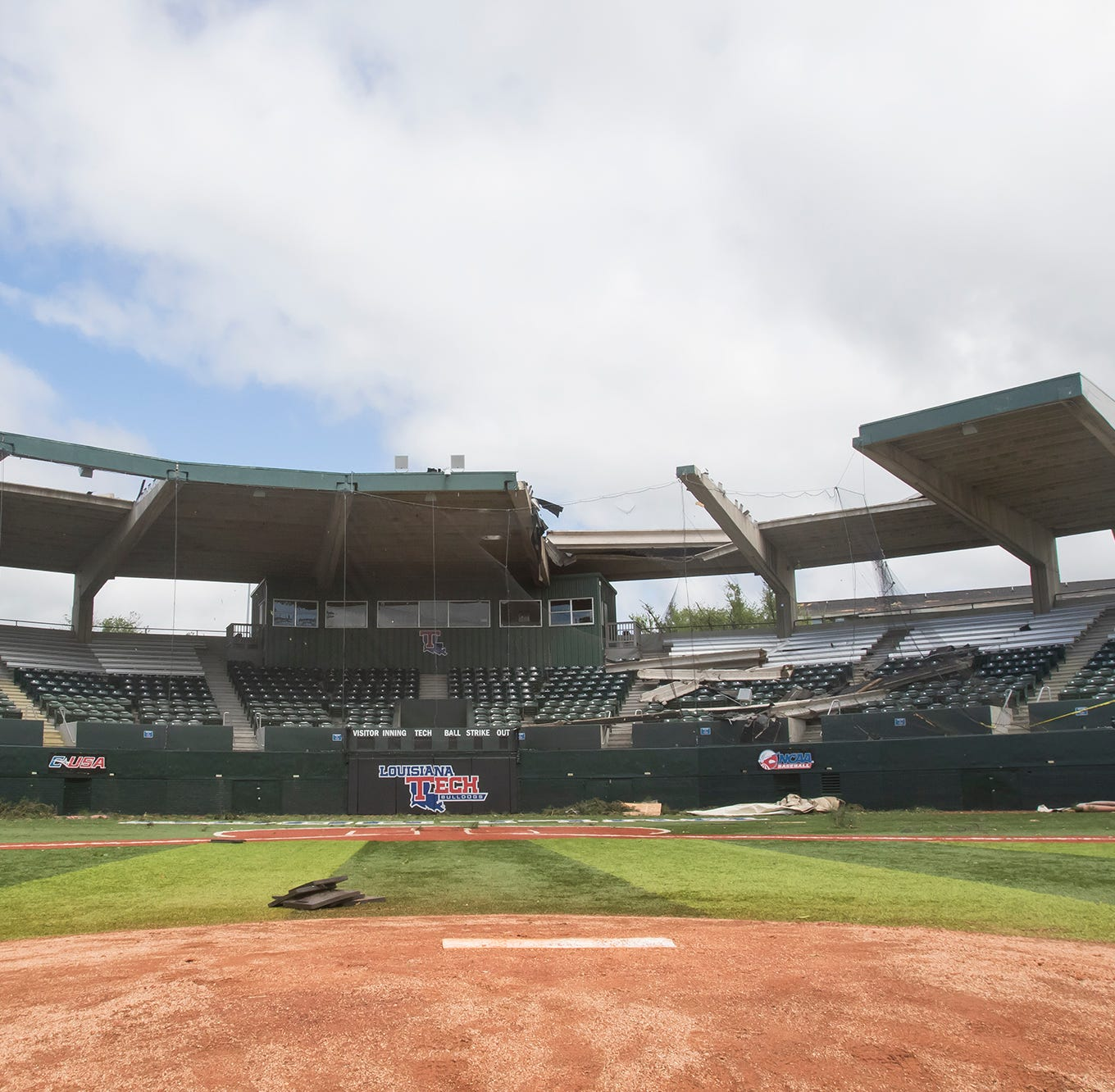 Where should LA Tech rebuild baseball stadium?