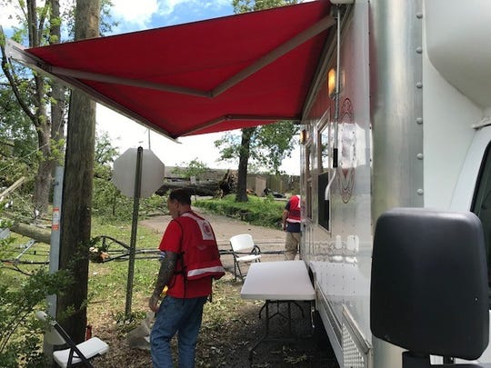 The Salvation Army of Monroe has deployed a mobile feeding unit to provide food, hydration and emotional and spiritual care to those affected by the tornado that struck Ruston.