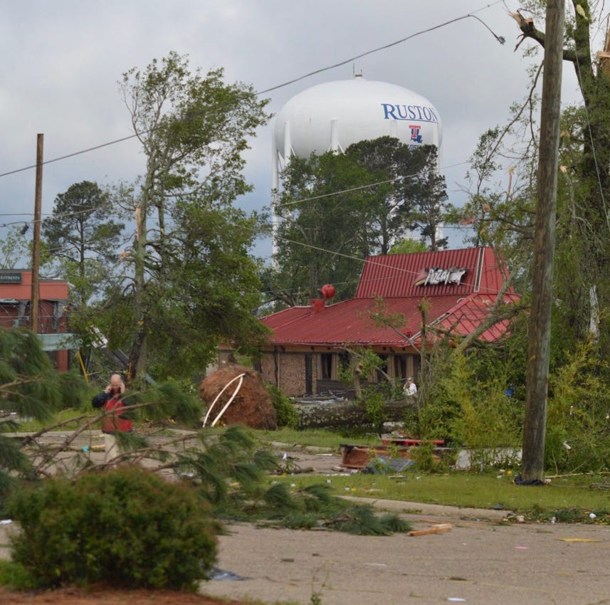 UPDATE: Mother, son killed in Ruston tornado