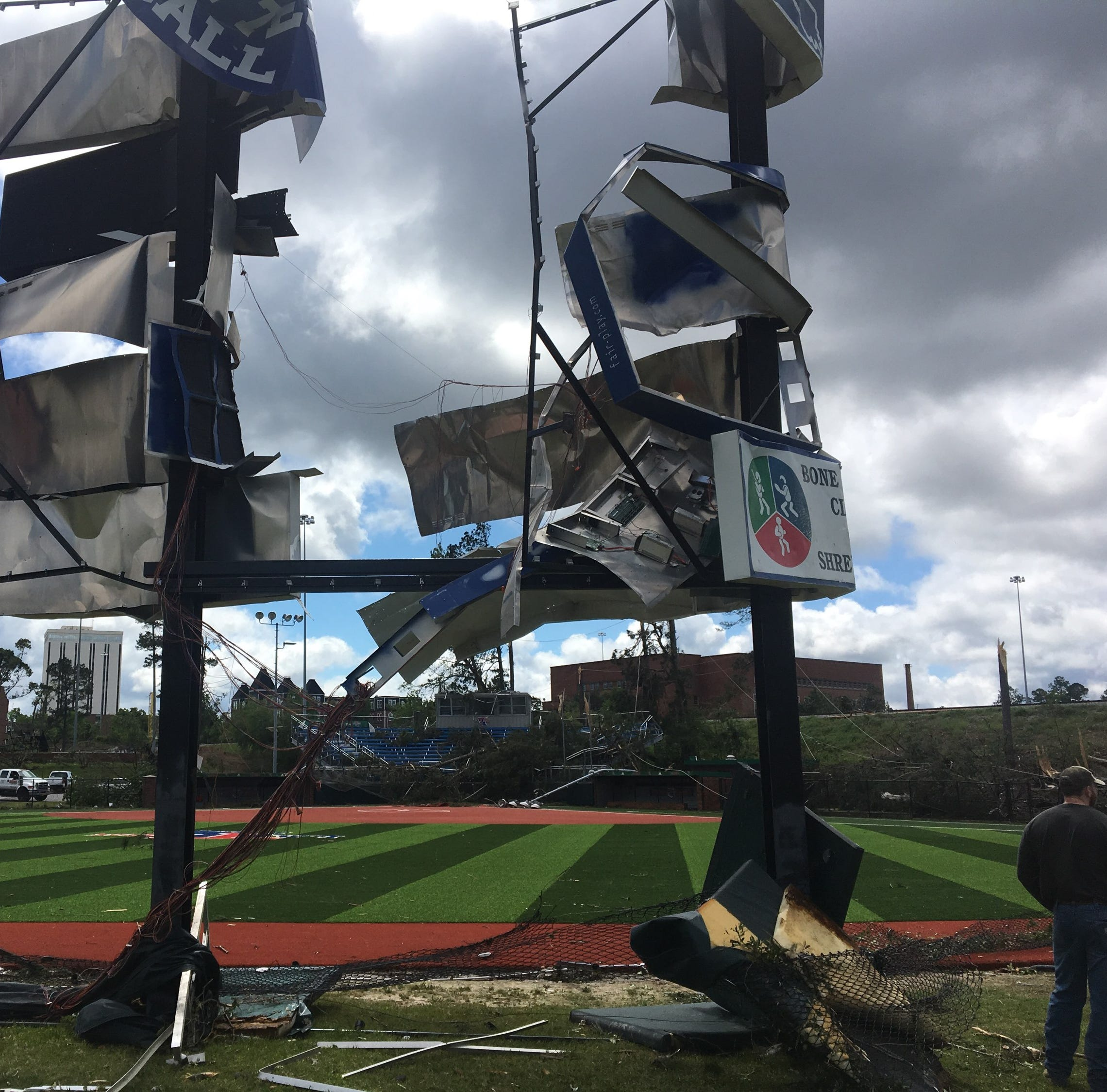 LA Tech sports facilities 'total rebuild' after 'devastating' early morning tornado