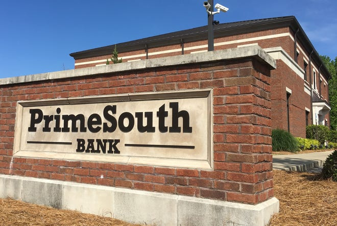PrimeSouth Bank opened its Pike Road location six years ago.