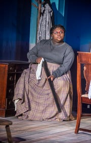"""A scene from Cloverdale Playhouse's production of the play """"Flyin' West,"""" which runs through May 5, 2019, in Montgomery."""