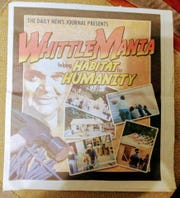 For many years, Dan Whittle helped produce and promote Whittlemania in connection with Demos' and Toot's restaurants. Proceeds benefited the Rutherford County Habitat for Humanity program.