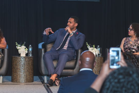 "Tennessee Titans linebacker Derrick Morgan discusses the intersection of music, athletes and activism. The ""Sounds of Social Justice"" event took place April 24, 2019, in Nashville and benefited the new National Museum of African American Music."