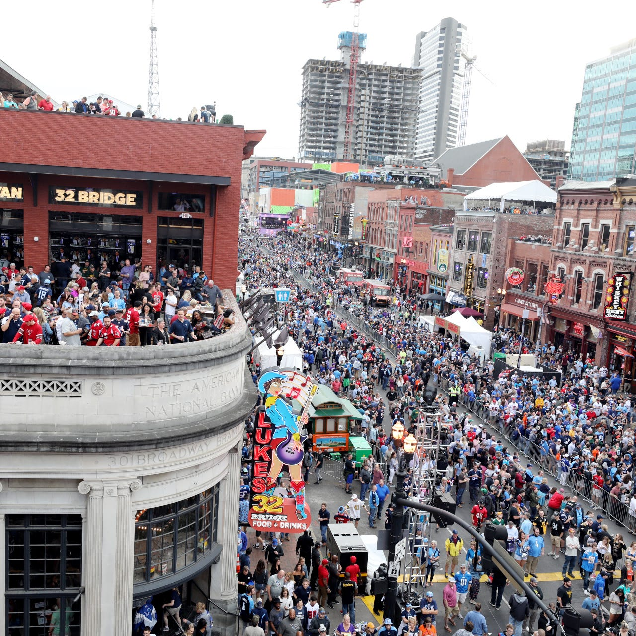 NFL Draft in Nashville: 'There never has been a scene like this for any draft'