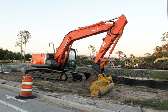 Toll Brothers construction continues in Collier County.