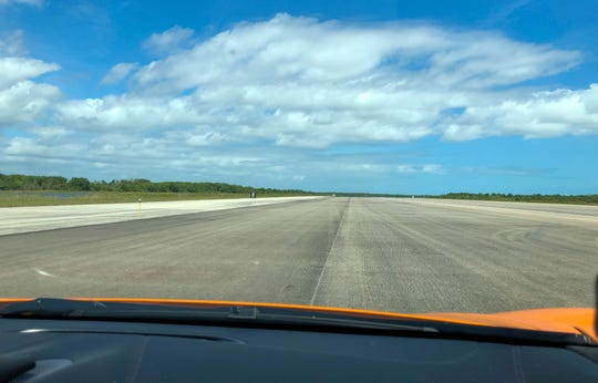 Drivers pushed their exotic cars to the limit on the 3-mile-long space shuttle landing strip at Kennedy Space Center in March 2019. Several cars, including McLarens and Lamborghinis, topped the elusive 200 mph mark — faster than most airliners at takeoff. The four-day event, called Pulse Rally, had drivers leave from Naples, drive to Orlando and then to the famous landing strip.