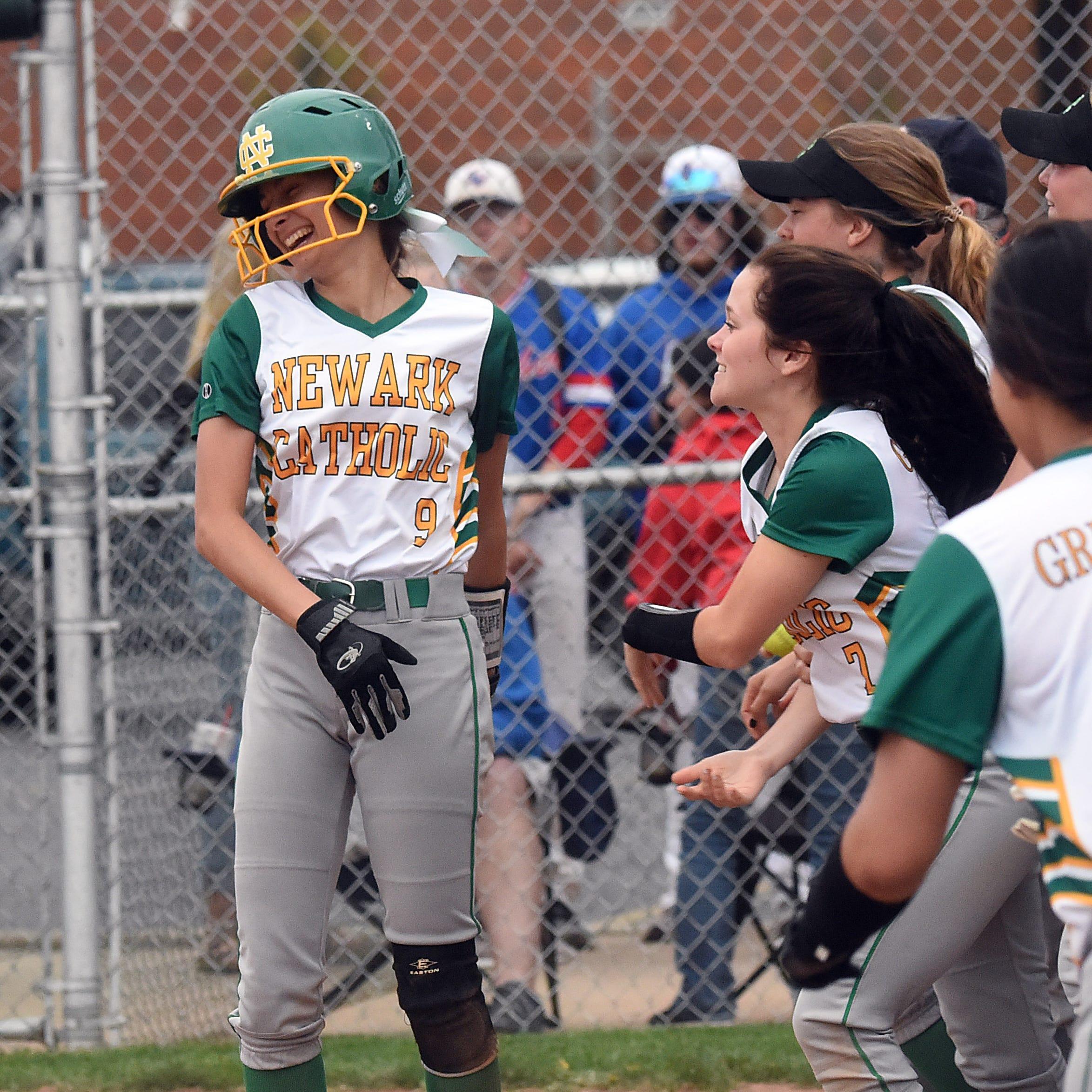 Determined Newark Catholic softball gets dramatic rivalry win