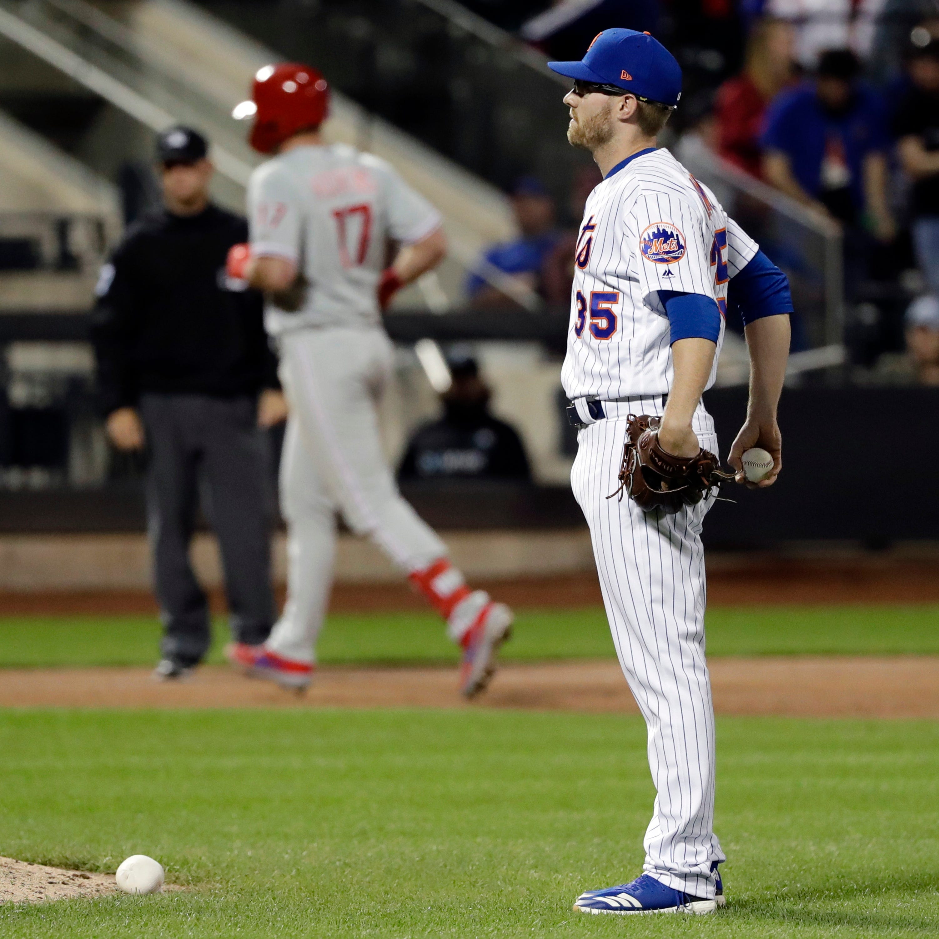 Mets' Jacob Rhame appealing suspension, but still optioned to Class AAA