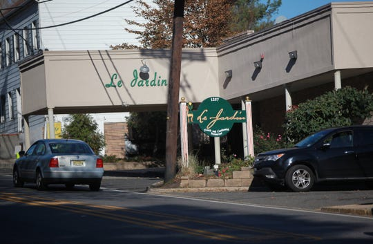 Le Jardin restaurant in Edgewater.
