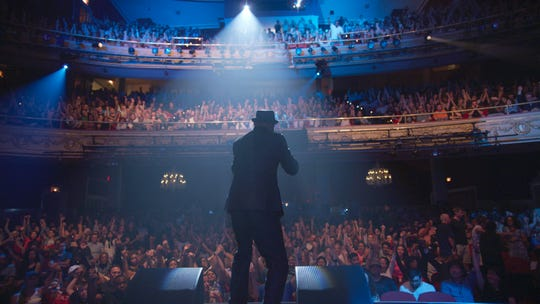 "This image released by the Tribeca Film Festival shows a scene from Roger Ross Williams' ""The Apollo,"" which kicked off the annual festival on April 24."