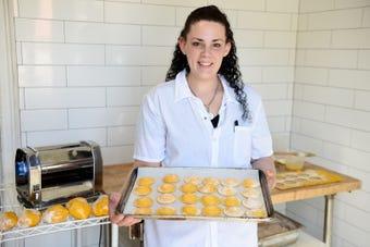 Joyann Demont, a recovering addict, is a pasta chef in Osteria Crescendo in Wayne.