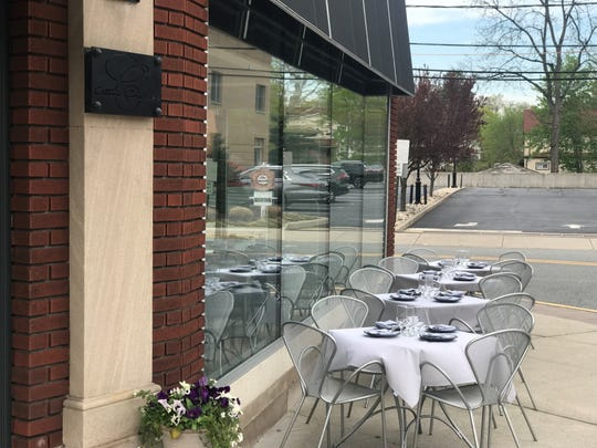 Among the newest outdoor dining spots is that of Osteria Crescendo in Westwood