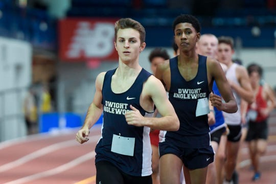 Coming into the NJIC Championships, Dwight-Englewood's Jeremy Bronstein, front, has won the last three Patriot 800 races. Now he shoots for a fourth straight divisional title but this time in the Meadowlands Division.