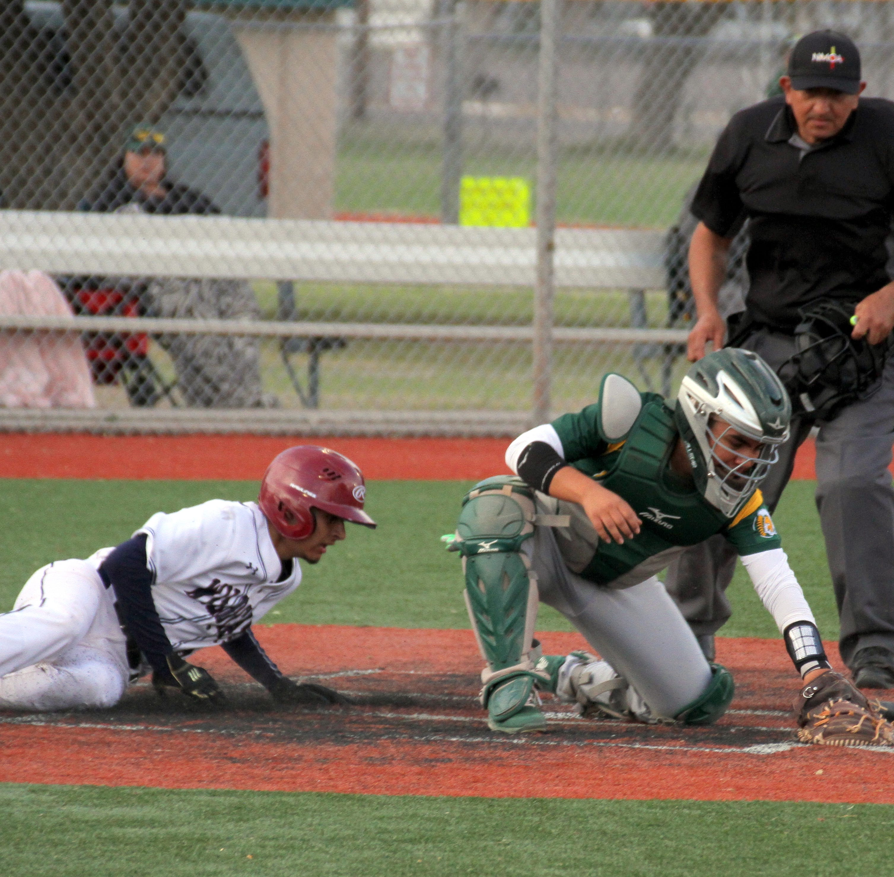 Mayfield mauls Deming Wildcats 11-6 in District 3-5A baseball