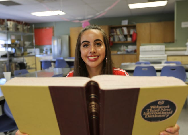 Eighth-grader Kristina Martos of Lynn Middle School will return to the national spelling bee for the second year in a row in 2019. She will become the first-ever Las Cruces student to attend the event twice.