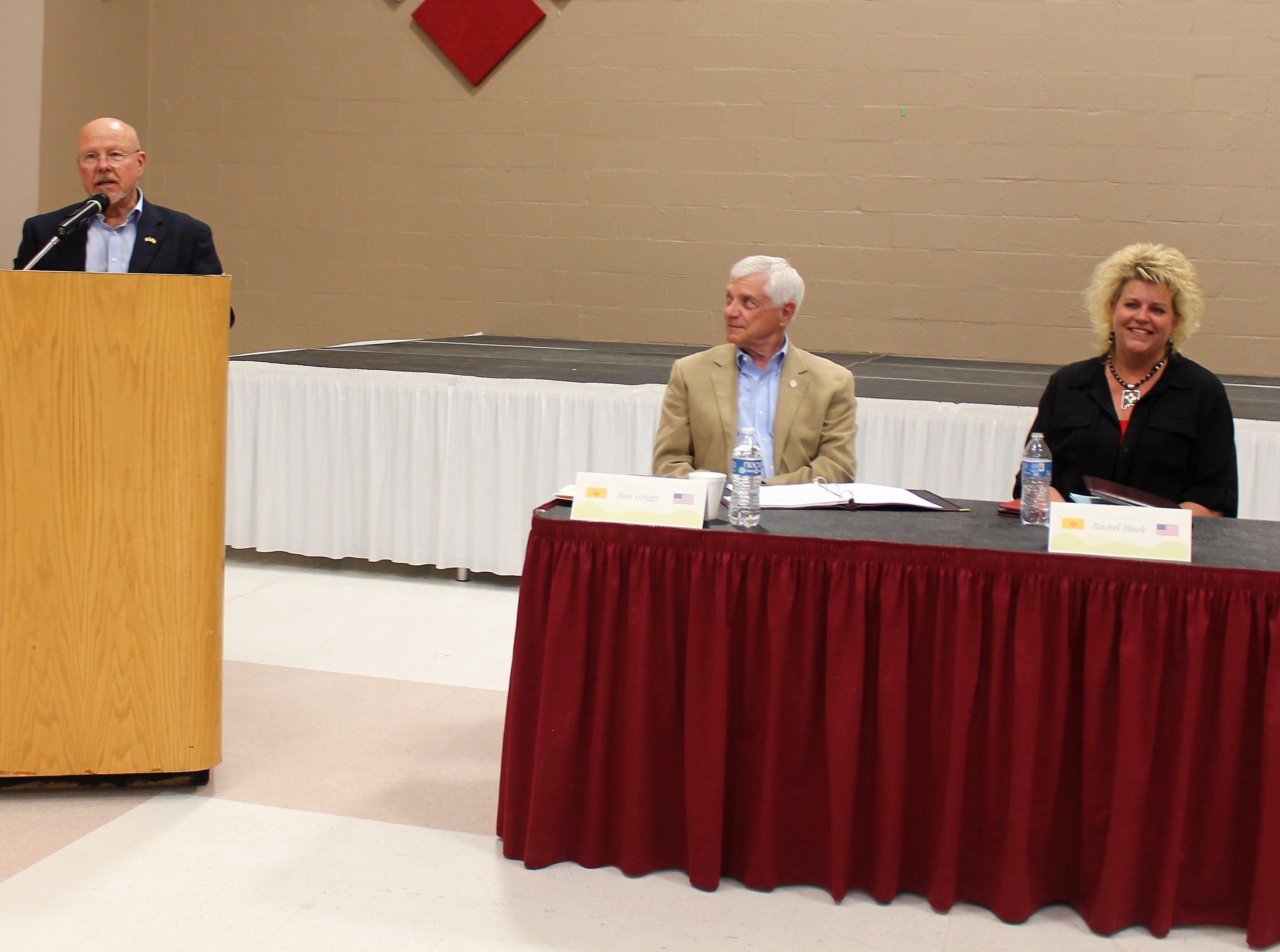 County legislative delegation discuss legislative session