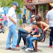Weekends are crowded with tourists in Ruidoso.