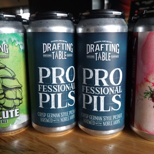 Wixom's Drafting Table brew-pub recently won a gold medal for their Professional Pils in the Pale European Lager category.