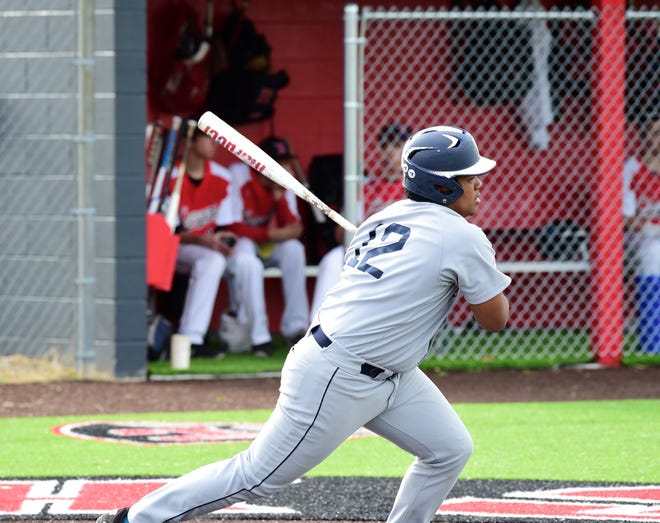 Franklin's Ryan Madden picked up an RBI in his team's win over Churchill on April 24, 2019.