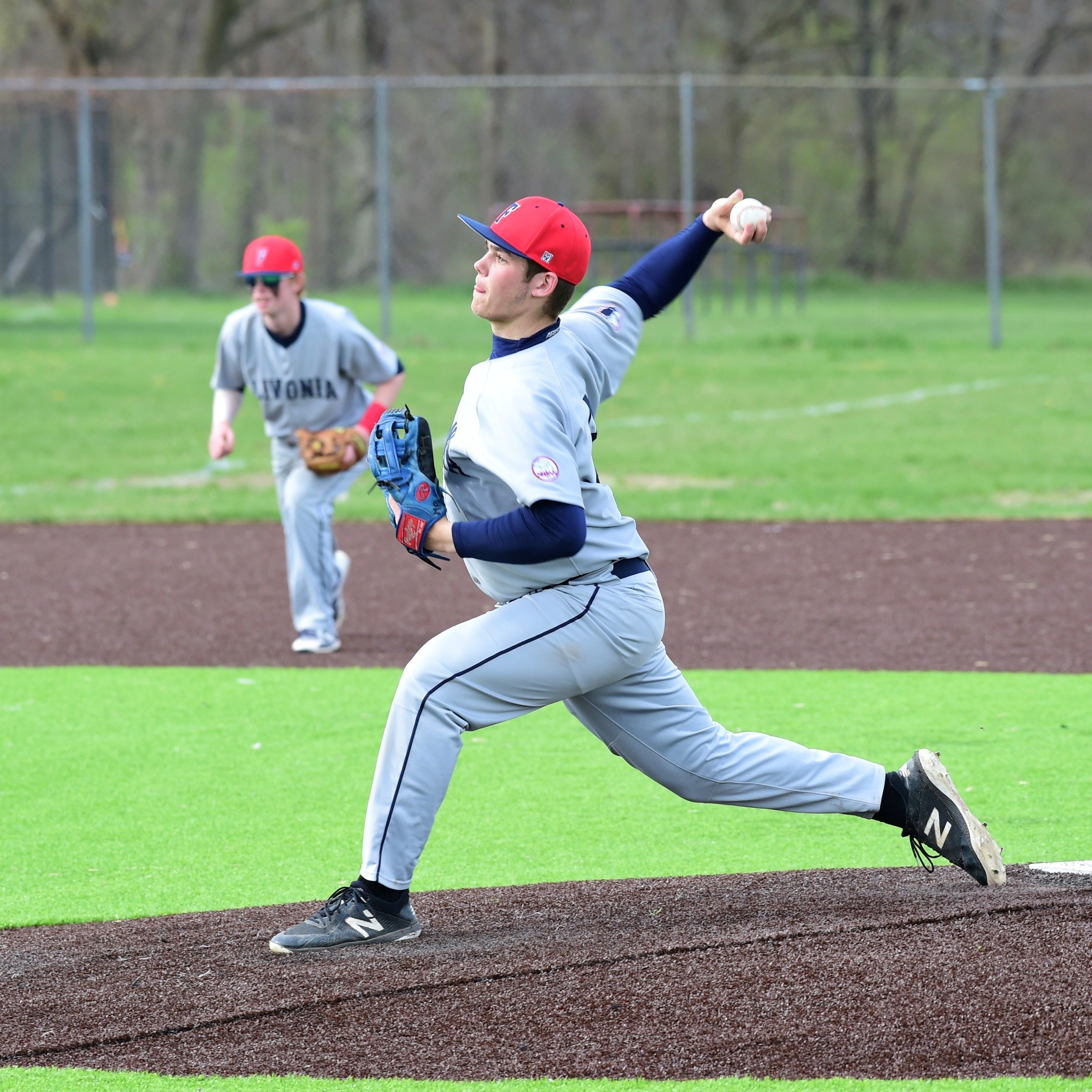 Livonia Franklin baseball completes sweep of Churchill with shutout