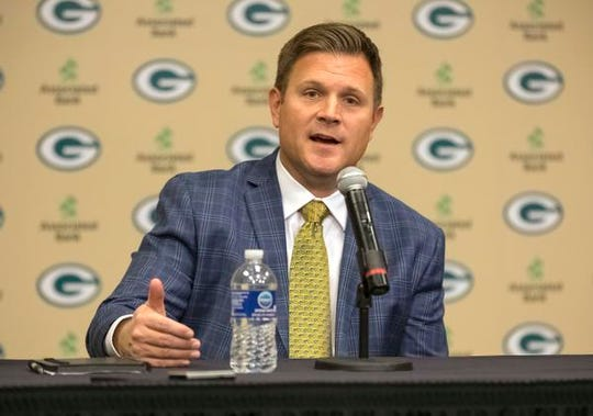 Brian Gutekunst has traded either up or down in the first round of his first two drafts as Packers general manager.
