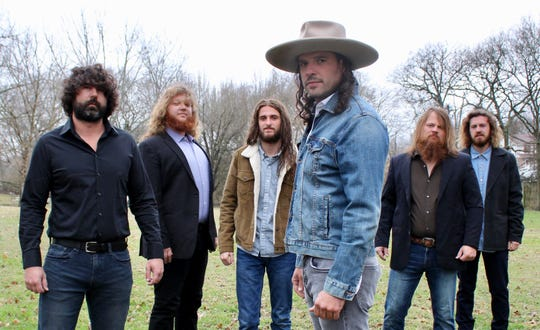 The Cordovas, featuring Joe Firstman in the foreground, will perform at 1:45 p.m. Friday in the Palomino tent at Stagecoach