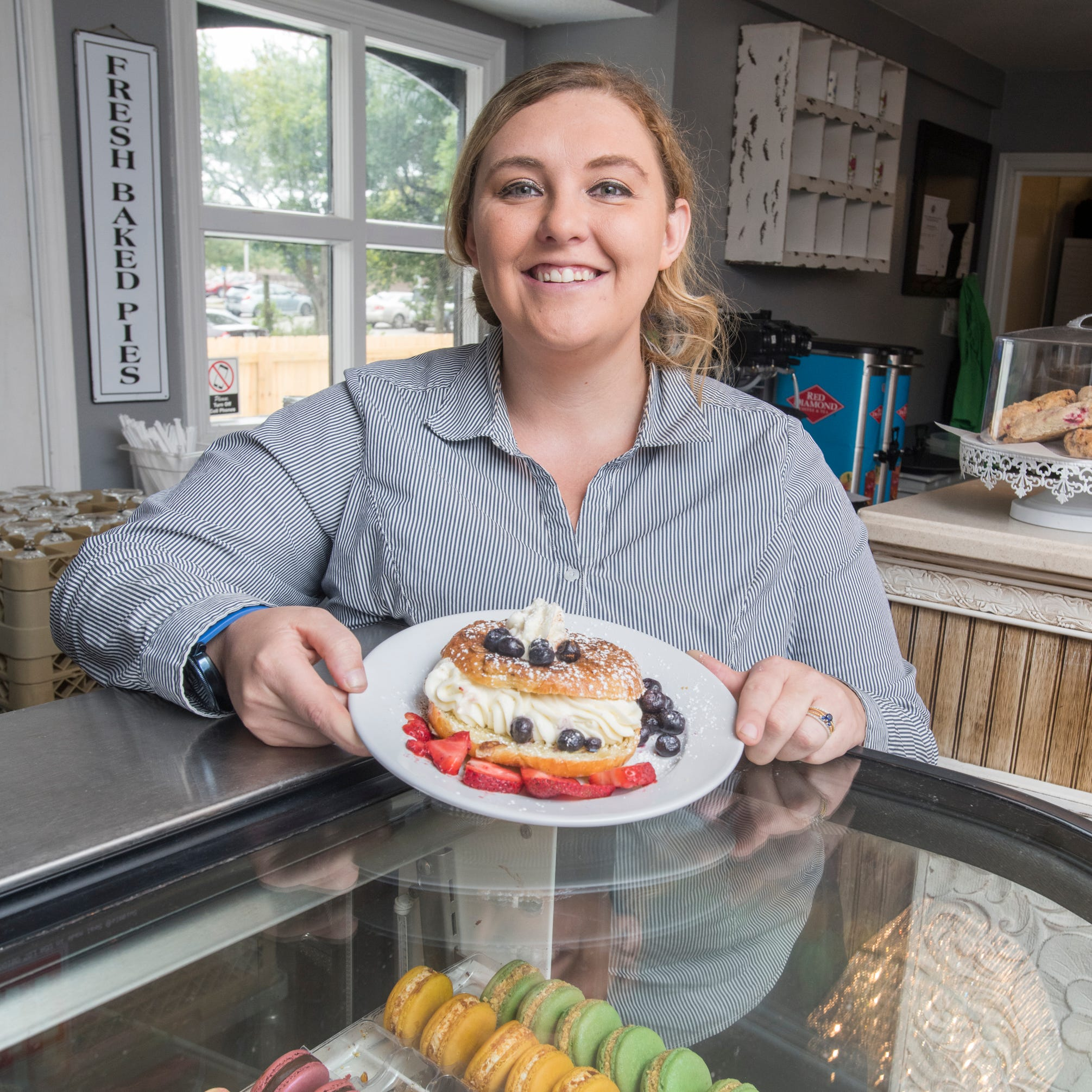 Adonna's Cafe & Bakery reopens on Garden Street with event space, tea room and more
