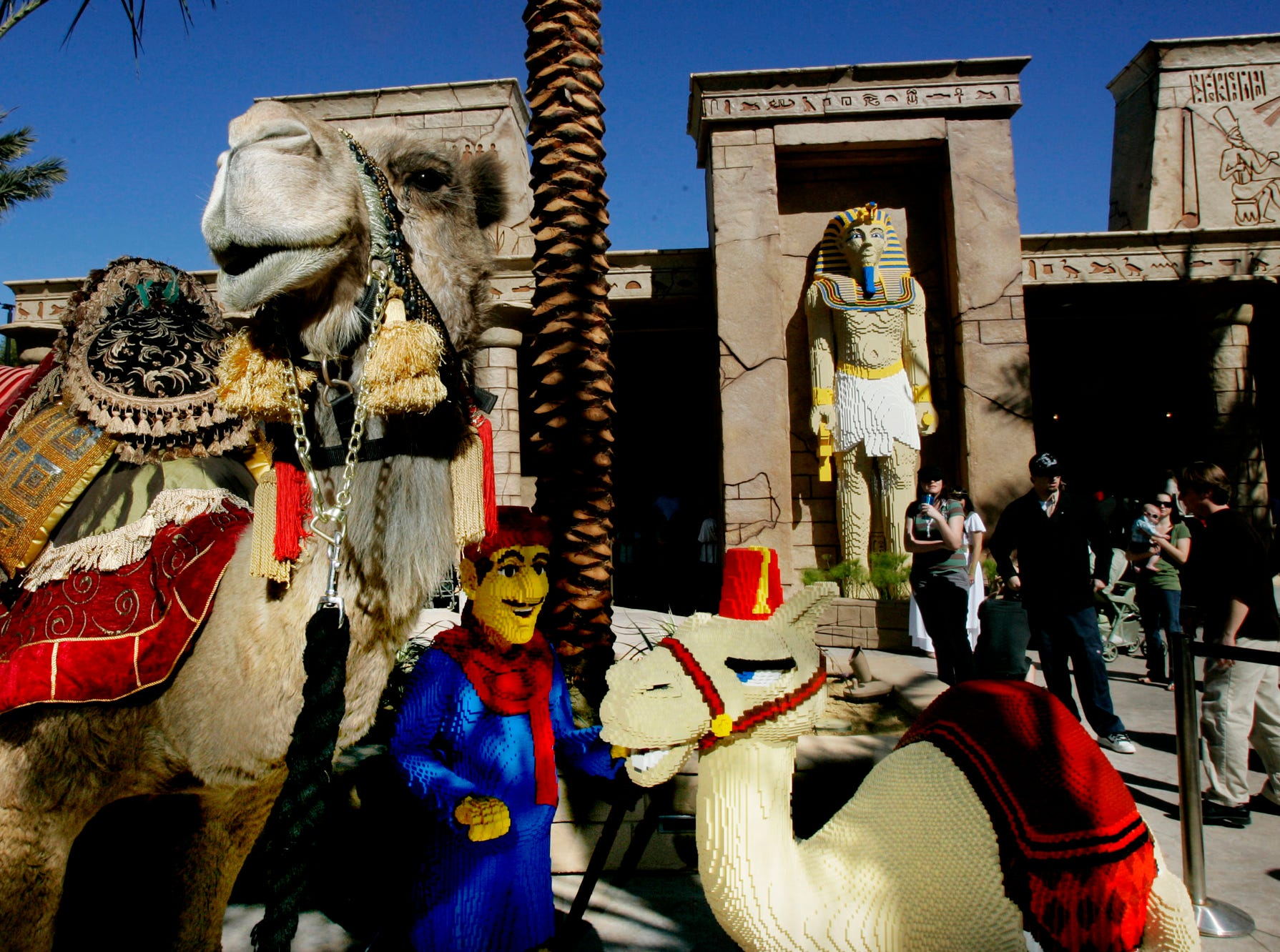 Egypt is one of the components of Legoland California's Land of Adventure.