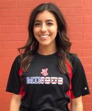 Cottonwood Mingus softball shortstop Maddie Bejarano