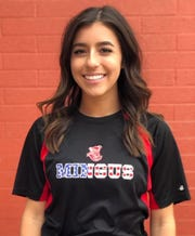 Cottonwood Mingus softball shortstop Maddie Bejarano